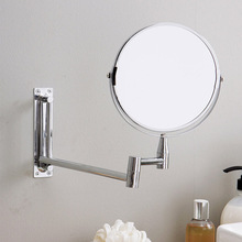 Wall Mirror Extend Double Side Bathroom Cosmetic Makeup Shaving Faced Rotatalbe 7