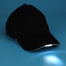 Кепка для кемпинга, бейсболка для рыбалки, светящаяся шляпа, 5 унисекс, Хэллоуин