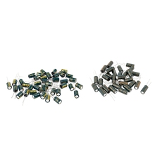 70 Pcs 6.3V 105C Radial Electrolytic Capacitors, 30 Pcs 2200uF 10x20mm & 40 Pcs 1000uF 8x12mm