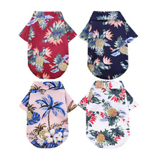 Clothing Floral-Clothes Dog-Shirts Cute Summer for Small Large Dogs-Chihuahua French