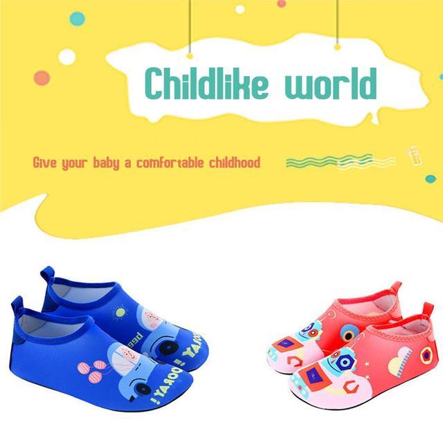 Children Beach Swimming Water Sport Socks Non-slip Quick-Drying for Fitness Dance Yoga Surf Swimming Socks 4