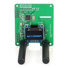 Дуплексный MMDVM модуль точки доступа Плата расширения RX TX UHF VHF поддержка P25 DMR YSF NXDN DMR с OLED и 2шт антенной
