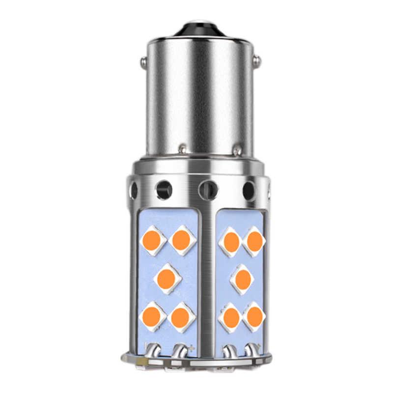 Żarówka LED 3030 35SMD canbus LED lampa do samochodu włącz światła sygnalizacyjne bursztynowe oświetlenie 12V 24V