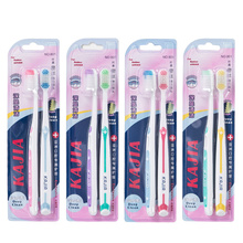 (8Pack) adult soft hair toothbrush lovers with head guards fine hair convenient independent packaging whitening oral care
