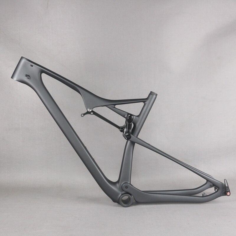 Seraph EPS Technology Custom Gray Paint BB92 Toray Carbon Fiber T1000 29er MTB Bike Frame FM06
