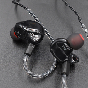 Image 5 - New  KZ ZS3 1DD Hifi Sport In ear Earphone Dynamic Driver Noise Cancelling Headset With Mic Replacement Cable AS10 BA10 ES4