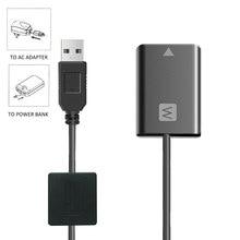 DC Adaptador de CORRENTE ALTERNADA de Energia AC-PW20E para Sony a3000 a5000 a5100 a6000 a6300 a6500 a6400 a7m2 a7rm2 a7r a7s a7sm2 Manequim Bateria Da Câmera