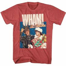 OFFICIAL WHAM New T SHIRT Last Christmas George Michael in SIZES SM - 5XL Men Short Sleeves Shirt top tee