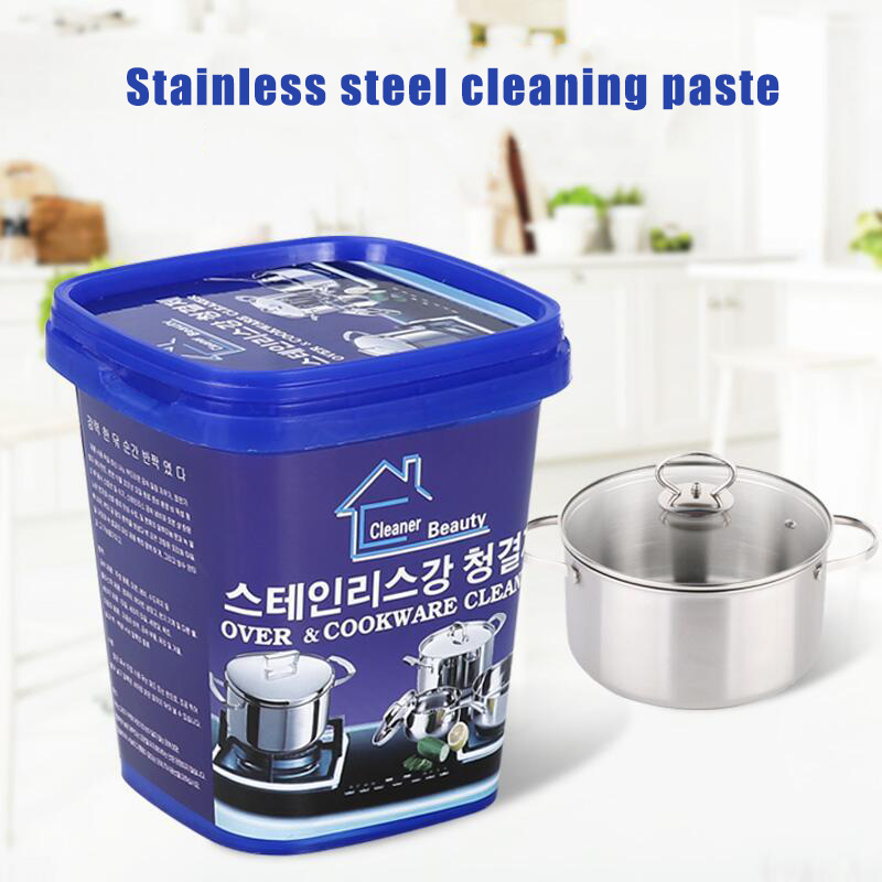Cookware Kitchen Magical Stainless Steel Cleaner Strong Detergent Cream DC156|Cooktop Cleaner| |  -