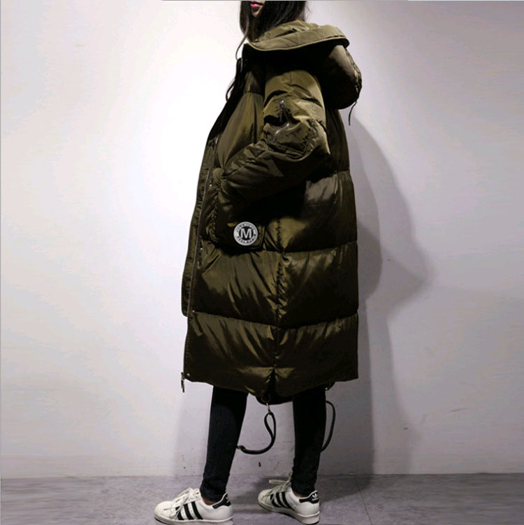 Loose fit thickening warm winter duck   down   jackets women   down     coats   outerwear 2019 autumn new collection