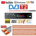 ТВ-тюнер Dvb T2  спутниковый приемник с функциями HD 1080p  USB 2.0  руководством на русском языке