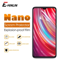 Morbido Anti Esplosione Nano Pellicola Protettiva Per La Nota Redmi 9S 9 8T 8 7 6 5 8A 7A 6A Pro Max 4 4X 5A Prime Lucida Della Protezione Dello Schermo