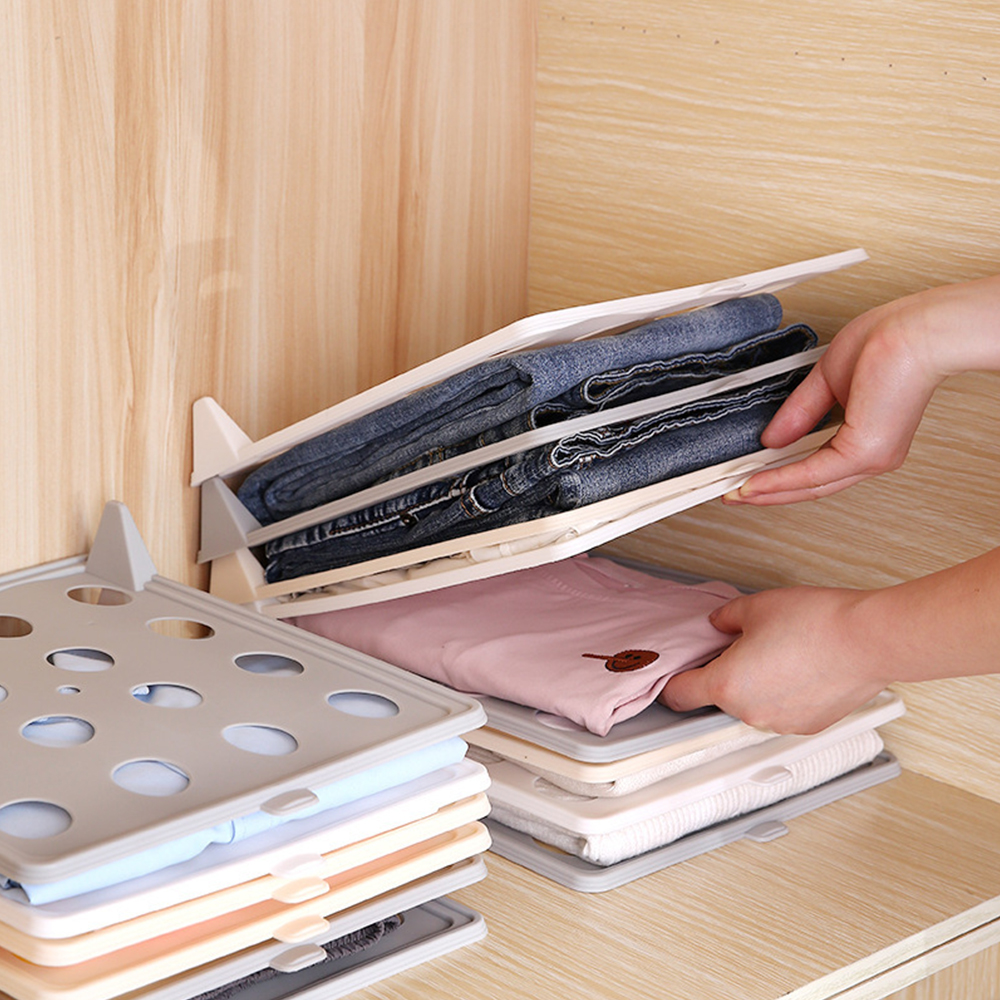 Wonderlife T-<font><b>shirt</b></font> Clothes Folder Board Handy Short <font><b>Shirt</b></font> <font><b>Organizer</b></font> Multifunctional Home Storage <font><b>Organizer</b></font> Separate Tools image