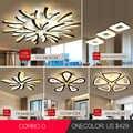 Светодиодный потолочный светильник люстра в форме одуванчика потолочный светильник для помещений современный простой пост-современный го...