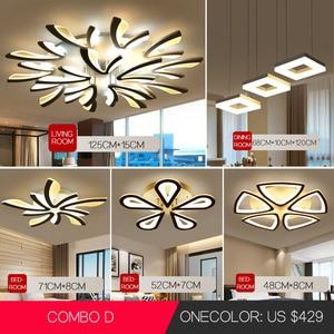 Image 1 - Lamparas דה baño שינה מודרני נברשת תליון תליית שקוע מודרני led תקרת אורות סלון נברשות