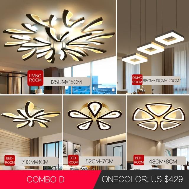 Lamparas דה baño שינה מודרני נברשת תליון תליית שקוע מודרני led תקרת אורות סלון נברשות