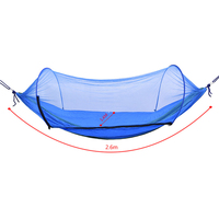 Portable Outdoor Mosquito Net Parachute Hammock Camping Hanging Sleeping Bed Swing High Strength Sleeping Swing Double Chair