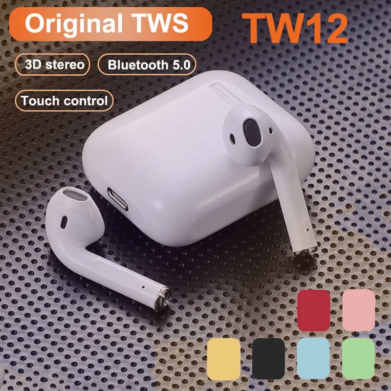 Original i12 TWS Stereo Wireless Bluetooth Kopfhörer Ohrhörer Headset Mit Lade Box Für Smart Telefon