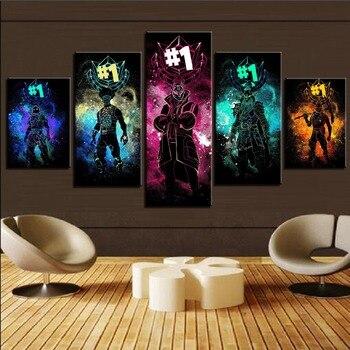 Cuadros de juegos abstractos Print en HD para sala de estar... póster...