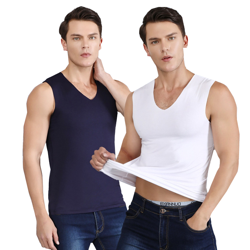 top 10 largest undershirt men v neck ideas and get free shipping - a189