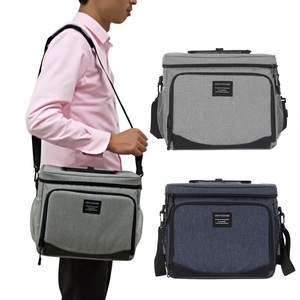 Image 5 - DENUONISS New Waterproof Cooler Bag Refrigerator Thermal bag Oxford 24 Can Large Capacity Thermos Bag Portable Fridge