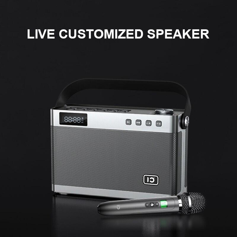 40 Вт беспроводной Bluetooth 5,0 динамик высокое качество для живой музыки инструменты Открытый домашний DSP HIFI портативный Бас Сабвуфер - 4