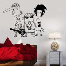 Muzyka rockowa naklejka ścienna na ścianę wystala wszystkie naklejki do dekoracji domu do H778