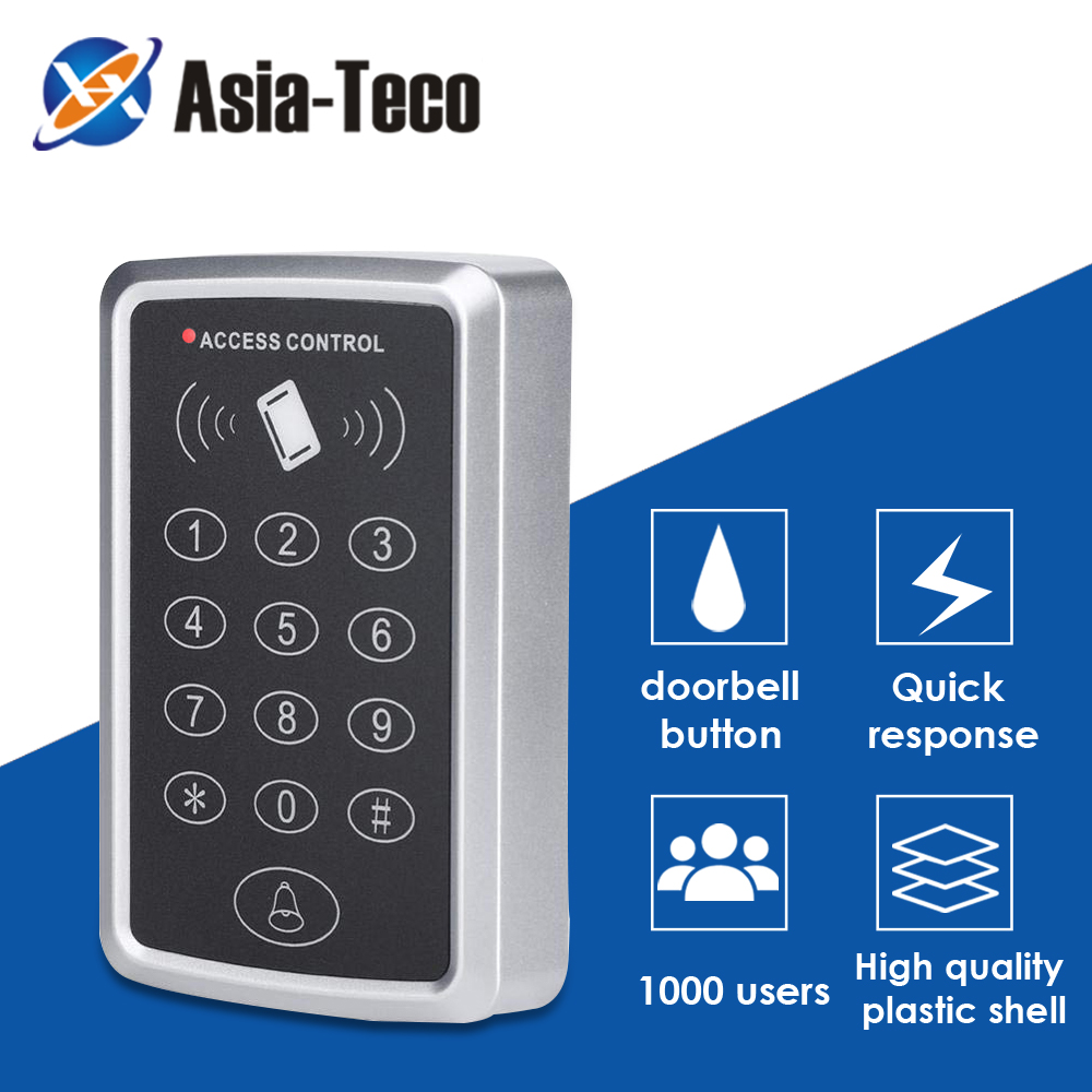 125 кГц RFID клавиатура управления доступом устройство чтения карт памяти