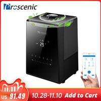 Proscenic 808C Air humidifiers 5.3L Warm and Cool Mist Humidifier with APP Control Touch Screen Adjustable Fog Quantity