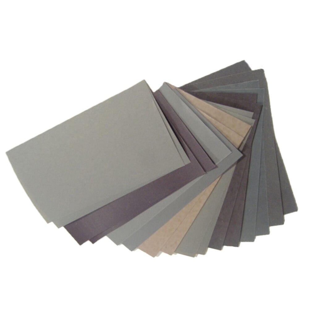 Crafts Sandpaper Car Body 15pcs/Set 400-2500 Grit 400 600 3000 800 1000 1200 1500 2000 2500 Grit 15x 15Pcs
