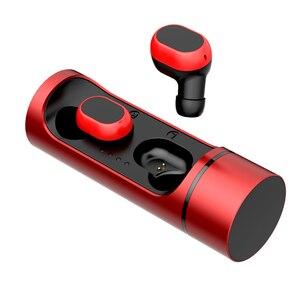 Image 5 - Blumusi k1 tws fones de ouvido sem fio bluetooth 5.0 verdadeira redução ruído estéreo sem fio mini baixo