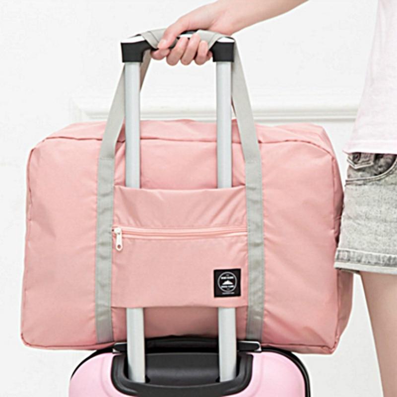 Новинка, нейлоновая складная дорожная сумка унисекс, Большая вместительная сумка для багажа, женские водонепроницаемые сумки, мужские дорожные сумки