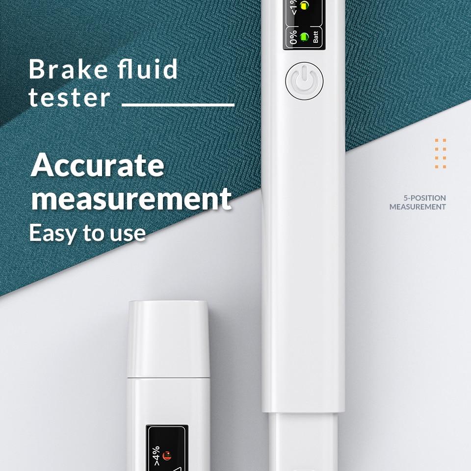 2020 инструмент для тестирования автомобильной тормозной жидкости с 5 светодиодный одами автомобильные инструменты для транспортных средств диагностические инструменты мини тестер тормозной жидкости|Тестер масла в тормозной системе|   | АлиЭкспресс