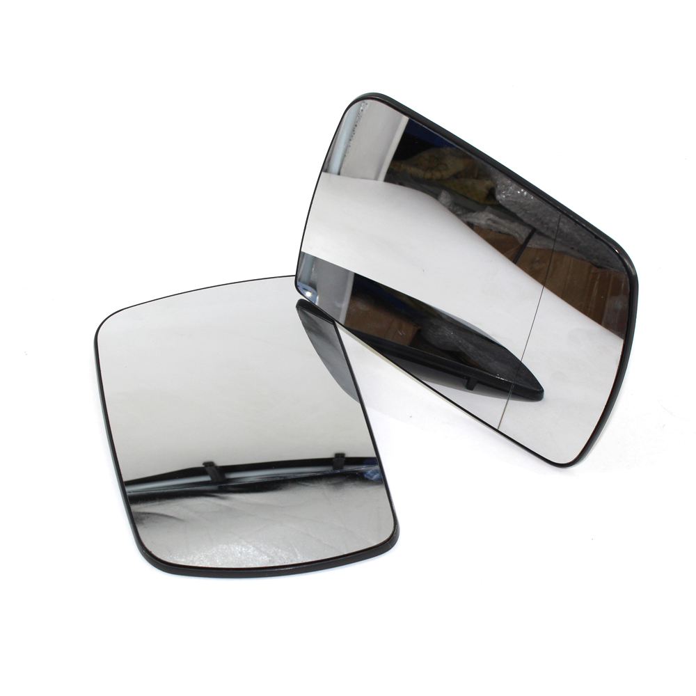 FIT BMW X5 E53 2000-2006 Mirror Glass W// Electric Heating Blue LEFT Driver Side
