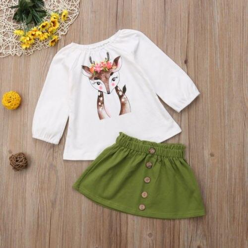 Toddler Deer Tops Clothing Set 2
