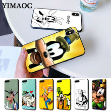 Goofy is in Mickey Mouse Silicone Case for iPhone 5 5S 6 6S Plus 7 8 11 Pro X XS Max XR lavaza cartoon mickey mouse couple silicone case for iphone 5 5s 6 6s plus 7 8 11 pro x xs max xr