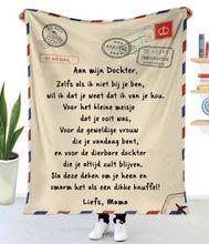 Holenderski ekspresowe miłość do mojej córki zabawna postać koc 3D drukuj Sherpa narzuta na łóżko tekstylia domowe koc najlepszy prezent 05 tanie tanio CN (pochodzenie) 100 poliester Przenośne Winter Raszlowe koc Klasa a PRINTED Nowoczesne Tkane Rectangle Domu Mechanicznej wash