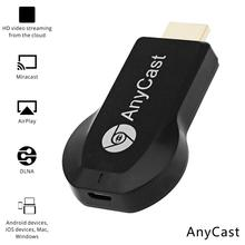 1pcs Anycast M2 M4 M9 Chromecast 2 mirroring multiple TV stick Adapter Mini Android Chrome Cast HDMI WiFi Dongle 1080P newest