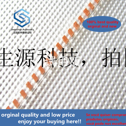 50pcs 100% Orginal New 6.3V 10UF A Type 1206 NOJA106M006RWJ 6.3V10A AVX Niobium Capacitor Red Seed