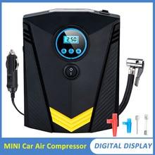 Gonfleur automatique portatif gonflable de pneu de voiture de la pompe 12V de compresseur d'air de voiture pour la pompe légère de pneu de LED pour moto ou voiture