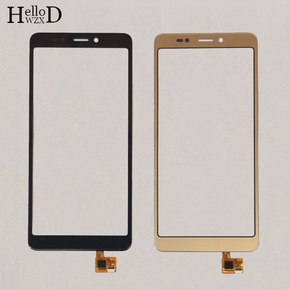 5'' Phone Touch Screen TouchScreen For Wiko Jerry 3 Front Glass Touch Screen Digitizer Panel Parts  Protector Film 3M Glue