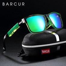 Barcur спортивные мужские солнцезащитные очки поляризованные