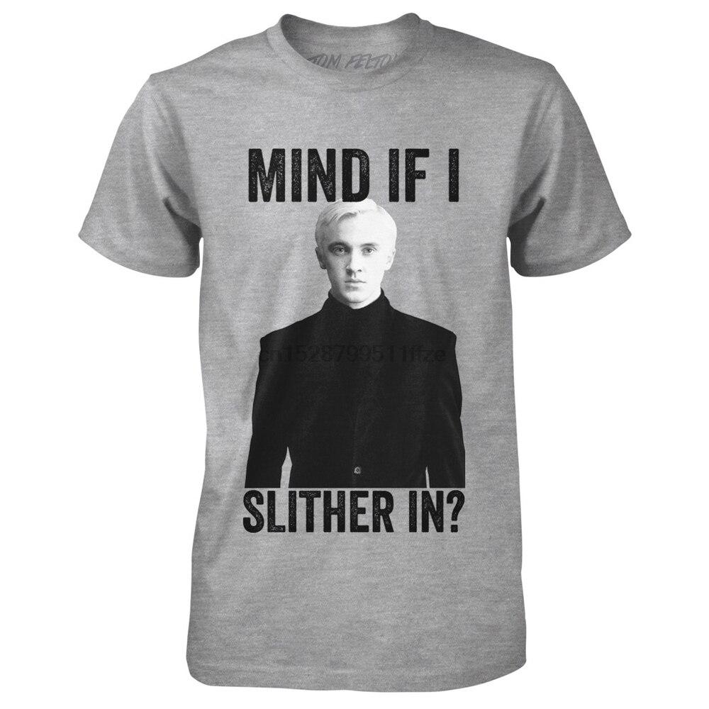 Летняя забавная футболка с принтом для мужчин и женщин Официальный Том Фелтон Mind If I Slither In Tee