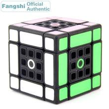 Fangshi F/S Lim Dual 3x3x3 Magic Cube 3x3 Professional Speed Puzzle Plastic Twisty Antistress Educational Toys For Children Kids