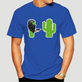 Hands Up Tees Cactus Assault Tshirt Mens Funny T Shirts Cotton Man T-Shirt Casual Shirt Popular Printed Sweatshirts XS 6420X