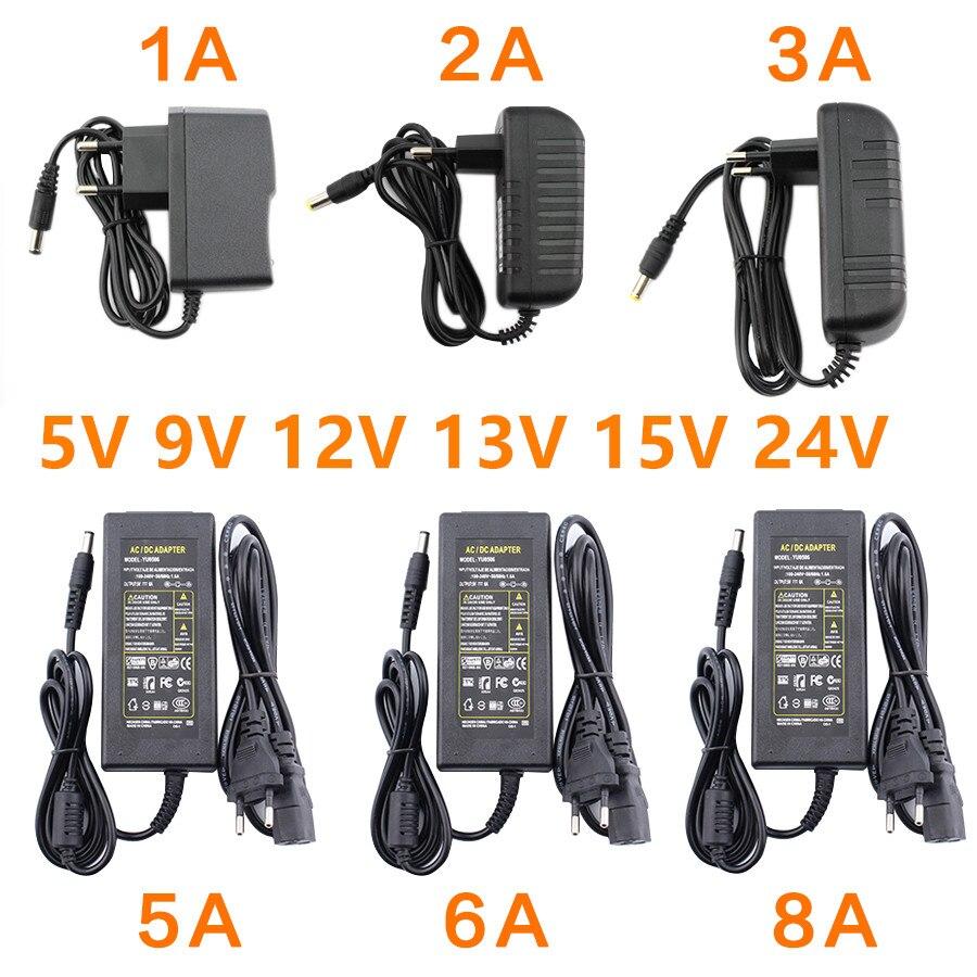 Блок питания переменного тока, 12 В, 5 В, 6 в, 8 в, 9 В, 10 в, 12 В, 13 в, 14 в, 15 В, 24 В, 1 А, 2 А, 3 А, 5 А, 6 А, 8 А светодиодный драйвер