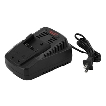 цена на Li-Ion Battery Charger For Bosch 14.4V 18V Battery Bat609 Bat609G Bat618 Bat618G Charger Al1860Cv Al1814Cv Al1820Cv(Us Plug)