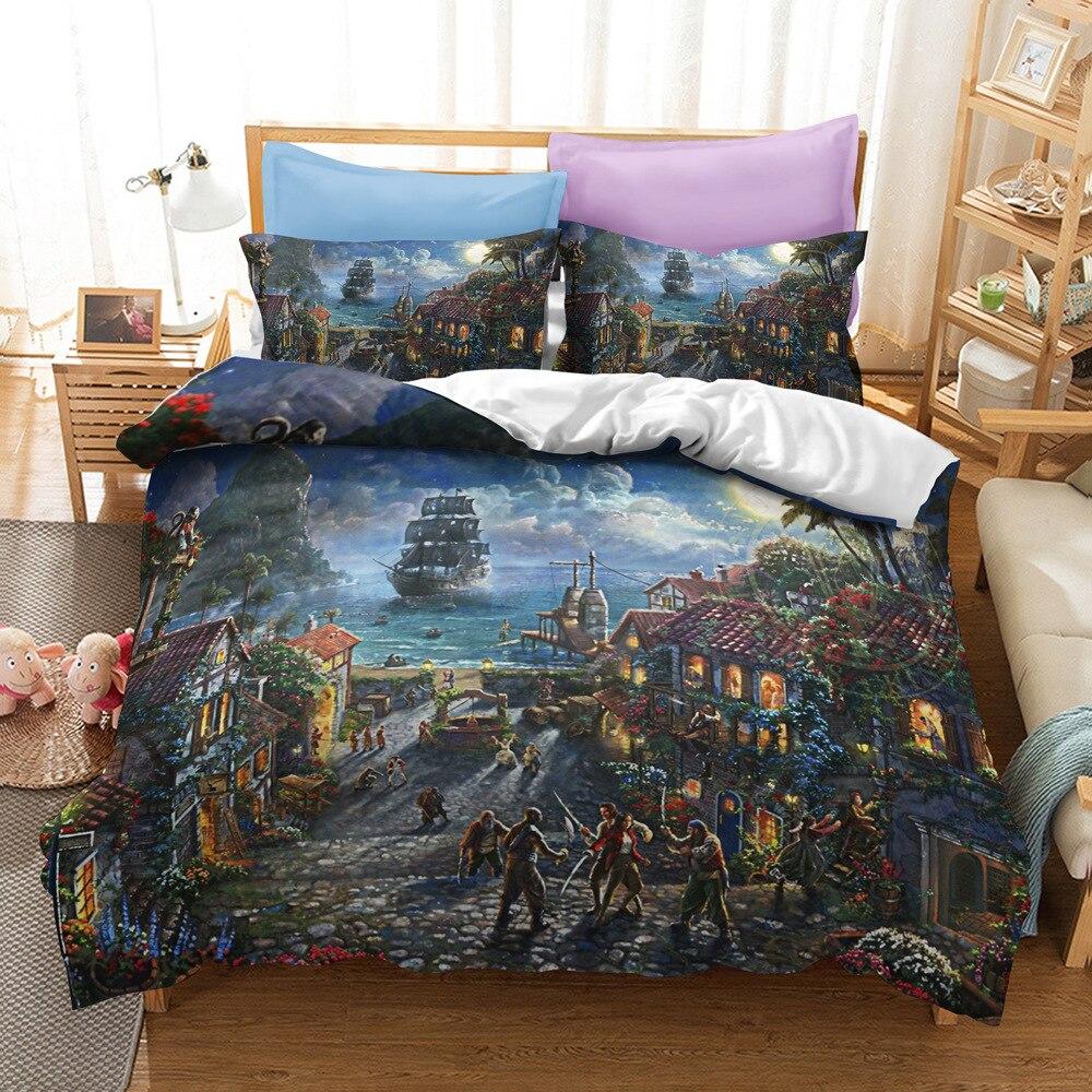 crianças das crianças duvet conjunto cama dupla