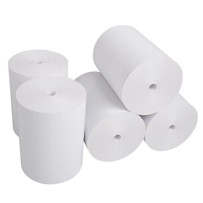 Factory Direct Wholesale 80x60mm No Core Thermal Paper