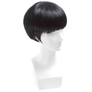 Image 3 - L email peruk Yepyeni Mob Psiko 100 Shigeo Kageyama Cosplay Peruk Kısa Siyah Isıya Dayanıklı Sentetik Saç Peruk cosplay Peruk